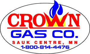 Crown Gas logo oval